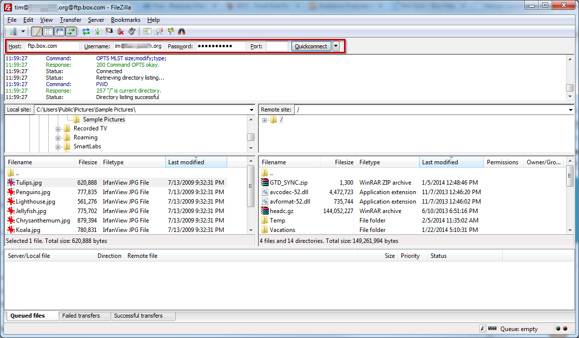 FTP and FTPS migration – Box