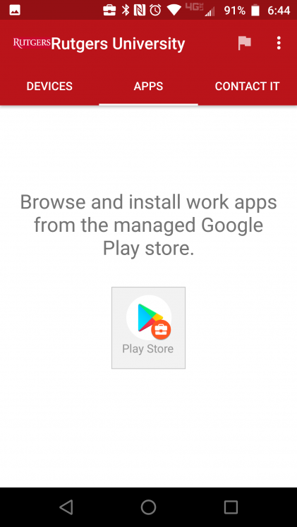 Android with Enterprise Mobile Management (EMM) – Box