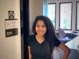 Diti in her office