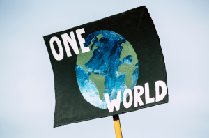 """poster: """"one world"""""""