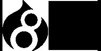 drupal wordpress logos